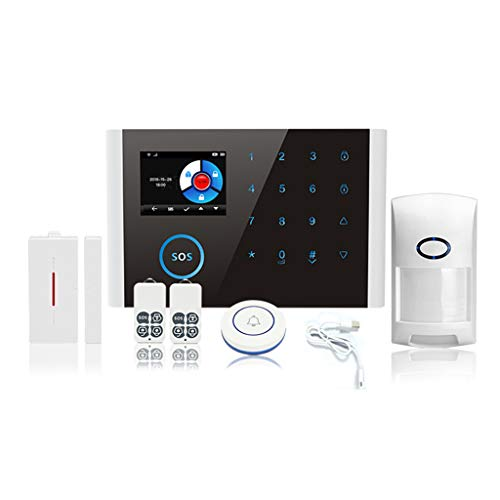 Alarm Systems for Your Home,NAOTAI 1Set CS108 Wireless WIFI GSM GPRS Smart Alarm System APP Remote Control RFID Card…