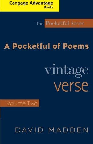 A Pocketful of Poems: Vintage Verse Vol. II (Thomson Advantage Books, The Pocketful Series) (Volume 2)