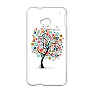 HTC One M7 Cell Phone Case White Dreams' Tree MHF Hard Phone Case Clear