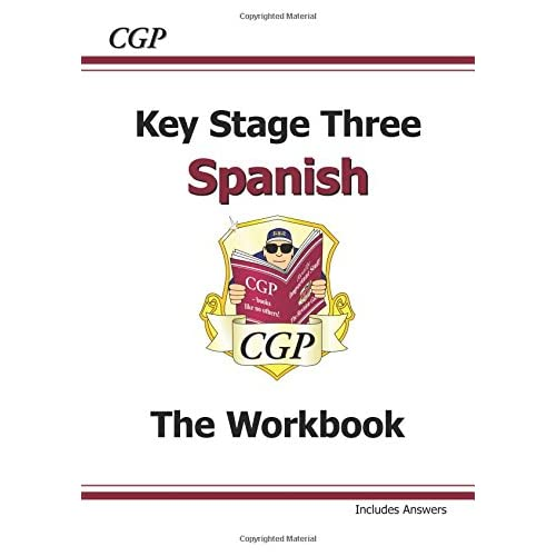KS3 Spanish Workbook with Answers (CGP KS3 Languages)