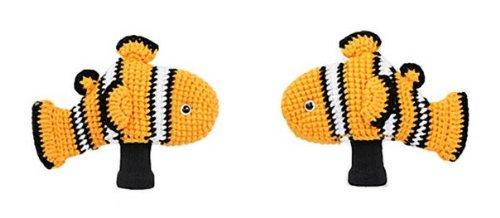Amimono動物ゴルフヘッドカバー – Crownfish – オレンジs101-a (ドライバー)   B00GWPGIPI