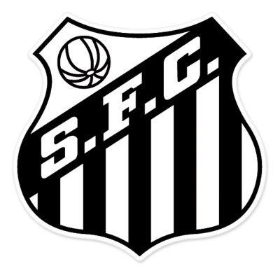 Santos FC - SP - Brazil - Brasil Football Soccer Futbol - Car Sticker - 4
