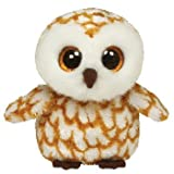 Ty Beanie Boos Buddies Swoops Brown Barn Owl Medium Plush