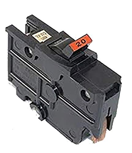 NA20 FEDERAL PACIFIC FPE 20 AMP STAB-LOK 1 POLE BREAKER THICK SERIES 20A 1P NA