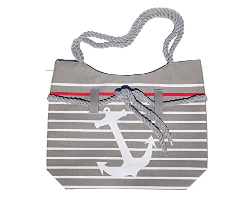 top-anchor-gray-white-lined-canvas-nautical-theme-tote-bag-zipper-rope-handle-beach-boat-essential-w