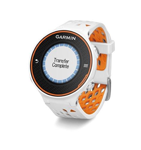 Garmin Forerunner 620 GPS Running Watch White/Orange 010-01128-01 by Garmin