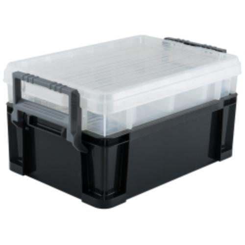 Titan 21218 18 3-way Stackable Storage Tote