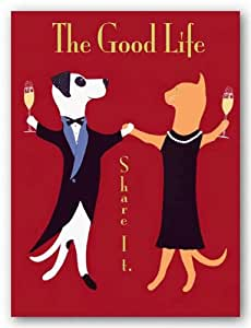 "The Good Life by Ken Bailey 10""x8"" Art Print Poster"