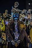 Spiritlele Halloween LED Mask Light Up Scary