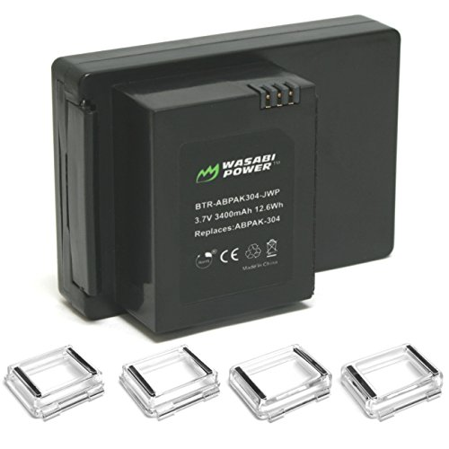 Wasabi Power Extended Battery for GoPro HERO3 - HERO3+ (with Backdoors)