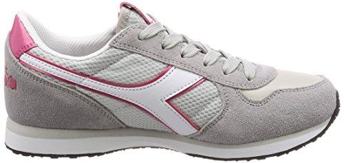 EU Diadora Alluminio K 40 Sneaker Grigio Run W Donna qr8nC4fqw