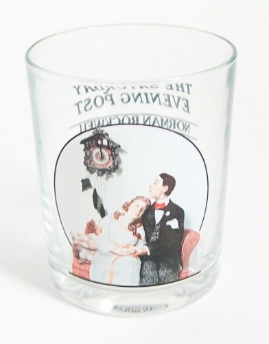 The Saturday Evening Post Norman Rockwell Glassware Collection - A Night on the Town 1921 - Collectible (The Saturday Evening Post Norman Rockwell Glassware Collection)