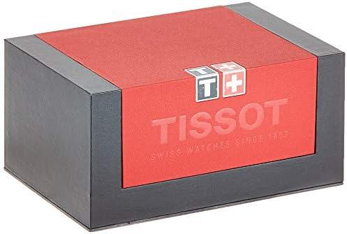 Tissot t0854101601200–Montre de Poignet, Bracelet en Mouton Noir