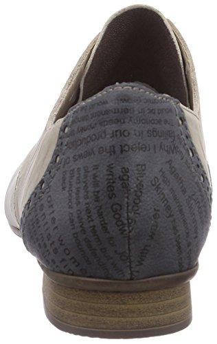 Shark Rieker Marble 51936 Grigio stringate 40 Jeans Grau Donna Scarpe basse derby Hay aarZxq