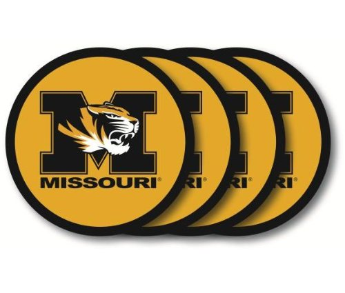 Missouri Tigers Coaster Set - 4 - Missouri Malls Outlet