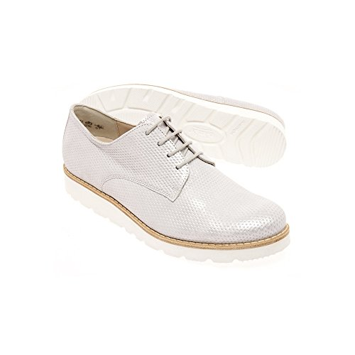 Scarpe E8045 stringate Semler Bianco donna 6PUwYq