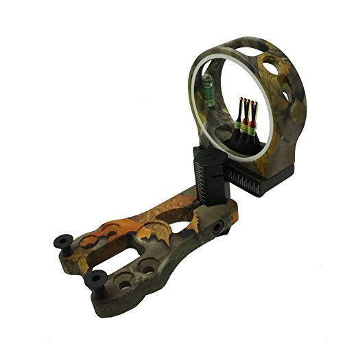 Pin Bow Sight Camo (Safari Choice Archery 5-Pin 0.029