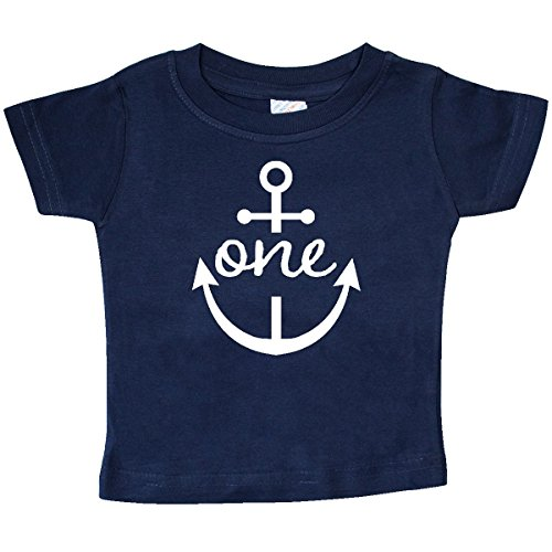 inktastic - 1st Birthday Outfit Anchor Baby T-Shirt 18 Months Navy 257a0 -