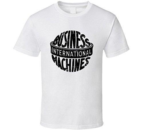 Sunshine T Shirts IBM Throwback Worn Look Christmas Gift T Shirt XL White (Ibm Tee)