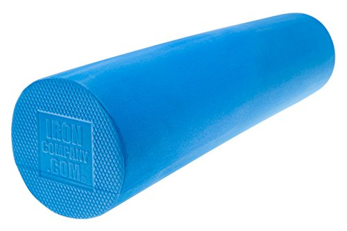 IRON COMPANY Move Exercise Kit – Foam Roller, Balance Pad Resistance Band Kit with Carry Bag Educational Online Video