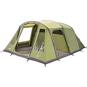 Vango Odyssey Inflatable Family Tunnel Tent, Epsom Green, Airbeam 600 [Amazon Exclusive]