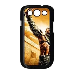 Spartacus Gods Of The Arena Wallpaper funda Samsung Galaxy S3 9300 caja funda del teléfono celular del teléfono celular negro cubierta de la caja funda EEECBCAAL07532