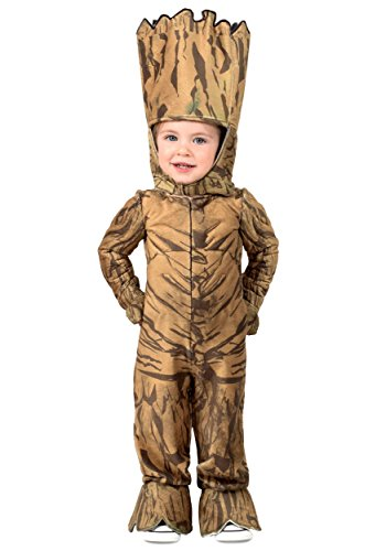 Galaxy Princess Halloween Costume (Princess Paradise, Marvel Groot Toddler Jumpsuit)