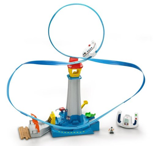 (Fisher-Price Transportation System GeoAir High-Flyin' Airport)