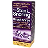 Essential Health Helps Stop Snoring Throat Spray, 2 Fluid Ounce