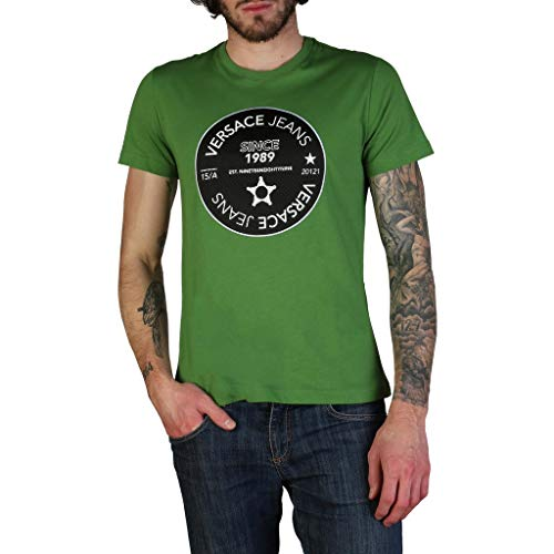 Versace Jeans Men Green - Mens Versace Spring Clothing