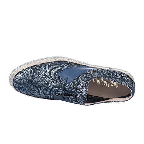 Thierry Lacets Infantes Femme Angel À Chaussures Mugler Marine Bleu qrw6qZO