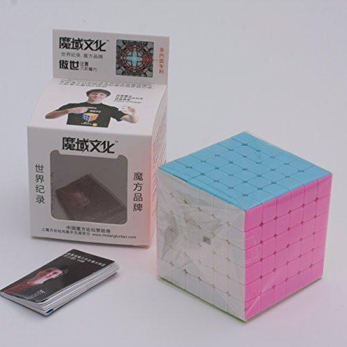 Yongjun Moyu Aoshi Magic Cube 6x6 Speed Cube Stickerless