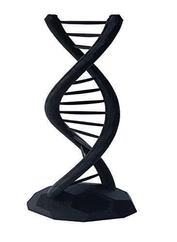 DNA Double Helix Science Gift 3D Printed Small ()