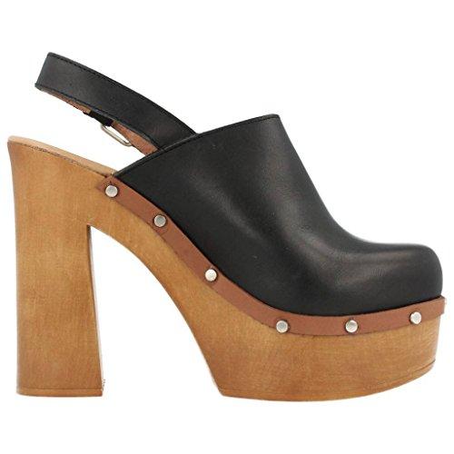 YELLOW Womens Clogs, Colour Black, Brand, Model Womens Clogs 52553 Black Black