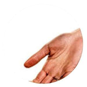 alfombrilla de ratón Pequeños y grandes manos - ronda - 20cm