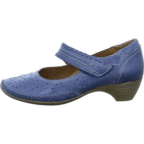 20 Jana Denim 8 24310 802 8 Denim Damen Pumps Blau wa6aqPf