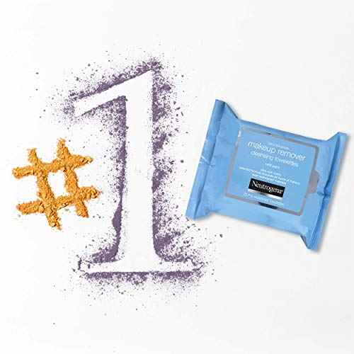Amazon.com: Neutrogena Makeup Remover Cleansing Towelettes, Daily Face Wipes to Remove Dirt, Oil, Makeup & Waterproof Mascara, 25 ct (Pack of 3): Beauty