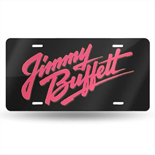 LemonationFF Jimmy Buffett Country License Plate 6