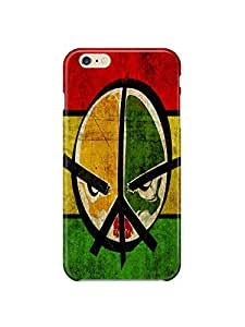 """i60981 peace art face Glossy Case Cover For Iphone 6 (4.7"""") by Maris's Diary"""