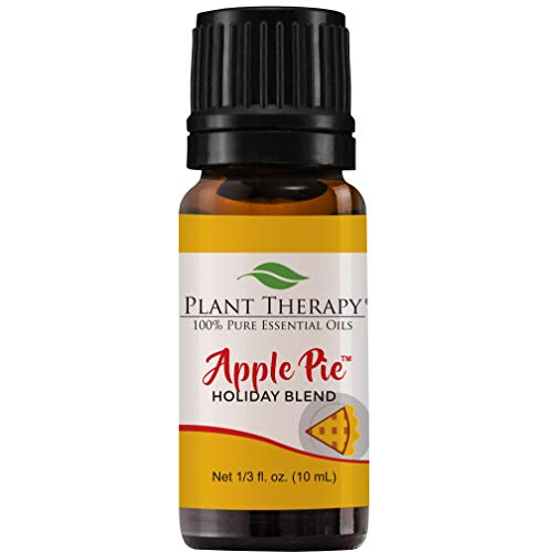 Plant Therapy Essential Oil | Apple Pie Holiday Blend | 100% Pure, Undiluted, Natural Aromatherapy, Therapeutic Grade | 10 milliliter (⅓ ounce)