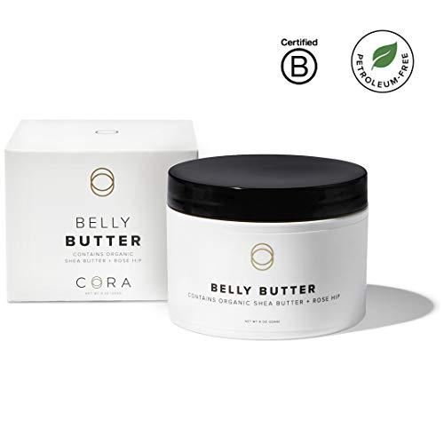 Cora Rose - Cora Belly Butter (Whipped Organic Shea Butter & Rose Hip) (8oz)
