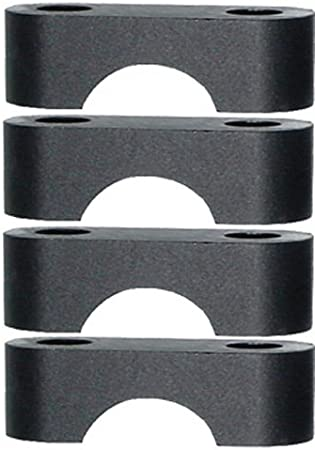 PowerMadd 45470 Black 7//8 Replacement Bar Clamps