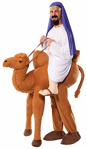 Forum Novelties Men's Ride-A-Camel Adult Costume, Multi, One Size -