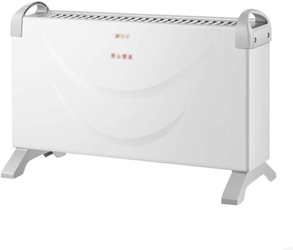 YYANG Calentador Eléctrico con 3 Configuraciones De Calor para El Hogar De Oficina Bajo Consumo De Energía En El Piso - Ventilador Caliente con Radiador Espacial
