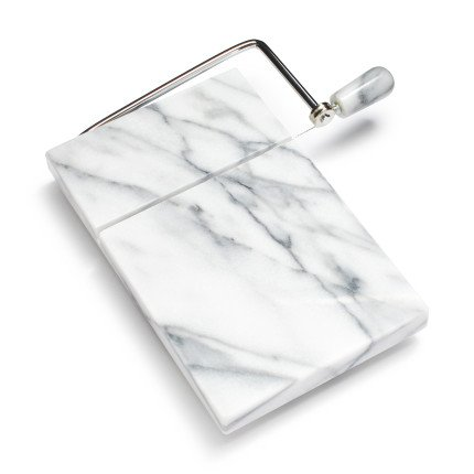 - Sur La Table Marble Cheese Board and Slicer K41512M