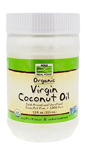 NOW Foods Organic Virgin Coconut Oil, 12 oz (Coconut Oil First Pressed compare prices)