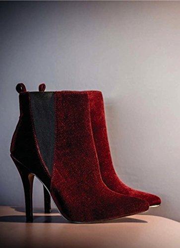 Femme Red Compensées Ravel Coleman Sandales 1ApxOn8