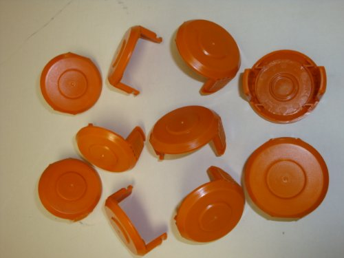 WORX WA6531 GT Trimmer Replacement Spool Cap Covers (10 P...