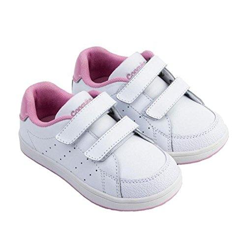 Conguitos Zapatillas de Deporte Niña 24901 Blanco-Rosa: Amazon.es: Zapatos y complementos