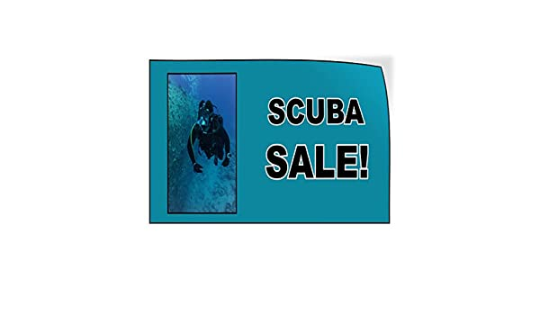 Decal Sticker Multiple Sizes Snorkel Equipment Business Snorkel Equipment Outdoor Store Sign White Set of 5 34inx22in
